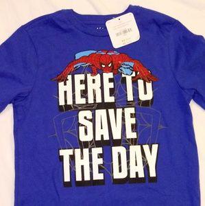 Boys GYMBOREE spider-man shirt!